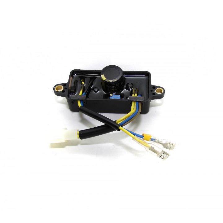 Автоматический регулятор напряжения (блок AVR) 2кВт пластик прямоугольный (2 провода 4 контакта)
