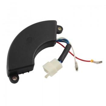 Автоматический регулятор напряжения (блок AVR) 5кВт пластик полумесяц (2 провода 4 контакта)
